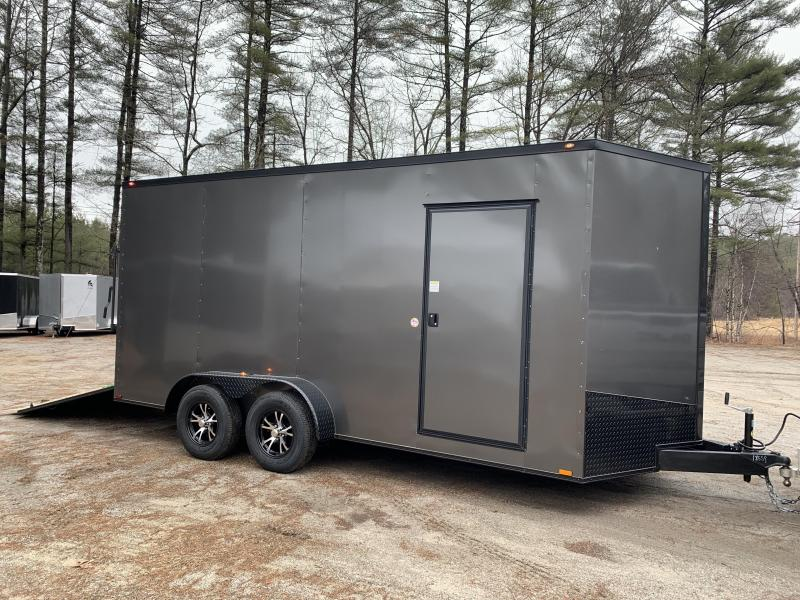 "2020 Spartan 7x16 +2ft V trailer / 12"" extra height"