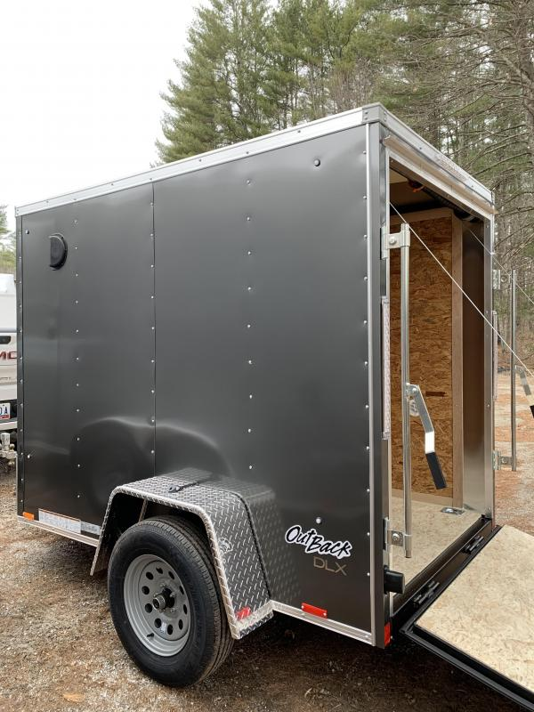 """2021 Pace American DLX 5X8 / 2ft v-nose / 12"""" extra height"""