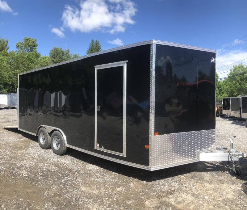 2019 EZhauler 8.5x20 Aluminum Trailer Extra height/9990gvwr/finished inter.