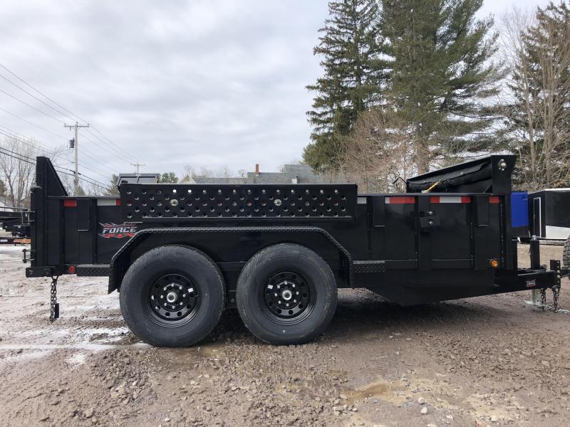 2020 FULLY LOADED 7x12 Hydraulic Dump Trailer