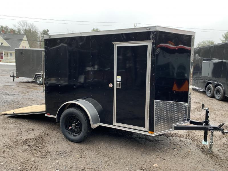 "2020 Spartan 5X8 +2ft V trailer/6"" extra/undercoated"