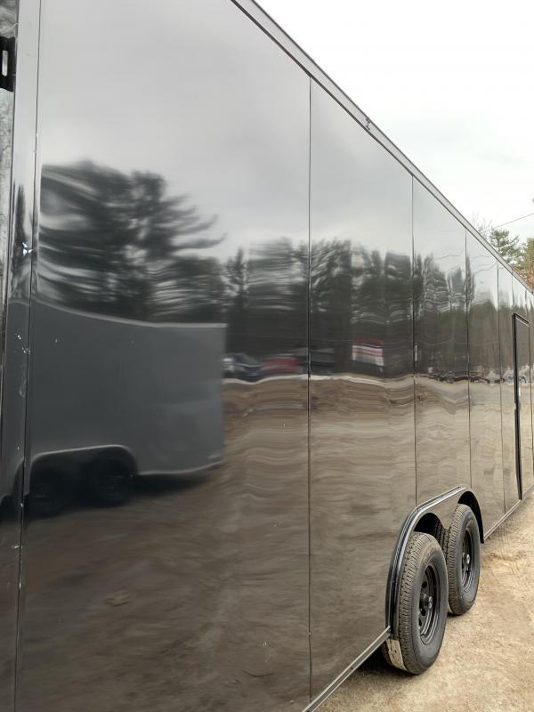 "2020 Spartan 8.5X24 +2ft V trailer/18"" extra height/9990gvwr"
