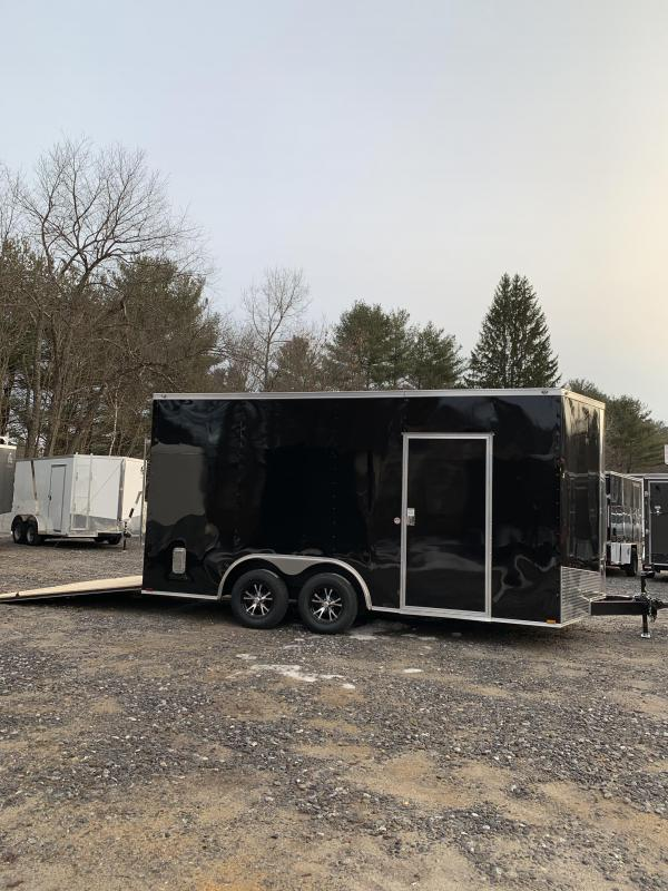 "2020 Spartan 8.5X16 +2ft V trailer/18"" extra height/16oc"