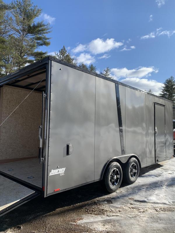 "SALE 2020 Pace 8.5X20+V trailer/12"" extra/9990gvwr/blackout"