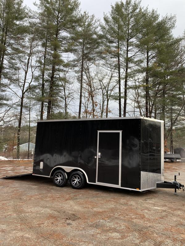 "2020 Spartan 8.5X16 +2ft V trailer/18"" extra height/16oc"