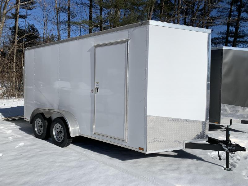 "2020 Spartan 7X14 +2ft V trailer ramp door/6"" extra height"