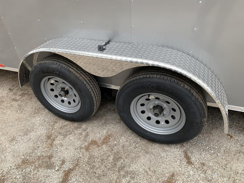 """2021 Pace 7X14 +2ft V trailer ramp/12""""extra height"""