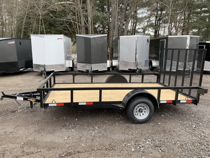 2020 D2E Trailer 6x12  2990gvwr single axle utility trailer