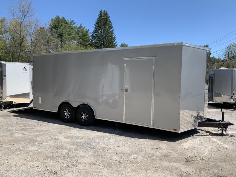 "2020 Spartan 8.5X20 +2ft V trailer/12"" extra height/9990 GVWR"