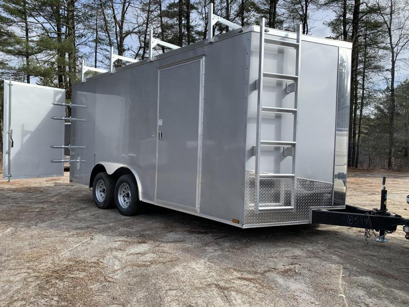 2020 Spartan 8.5X16 +2ft V trailer/Contractor package