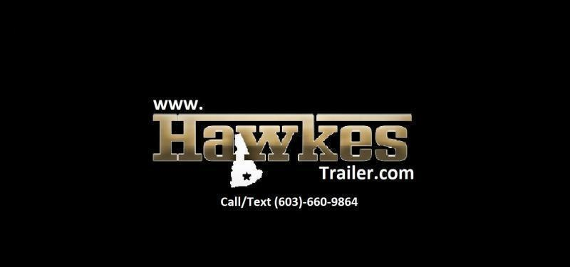 2020 Spartan 5X8 +2ft V trailer barn door/undercoated