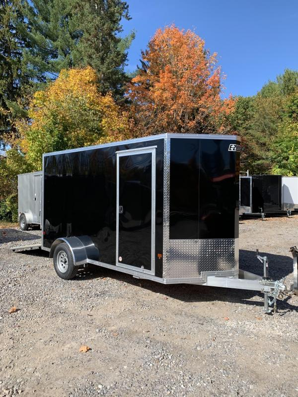 2020 EZ Hauler All Aluminum 6x12 +2ft V-nose Trailer