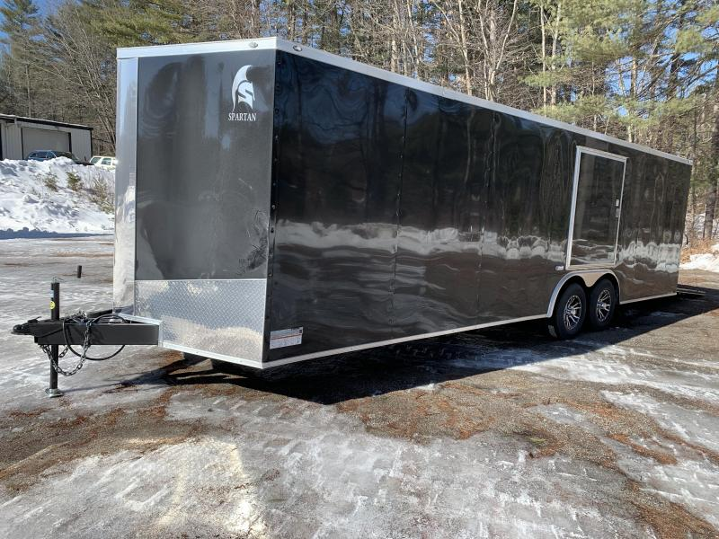 2020 Spartan 8.5x26 +2ft V trailer 9990gvwr