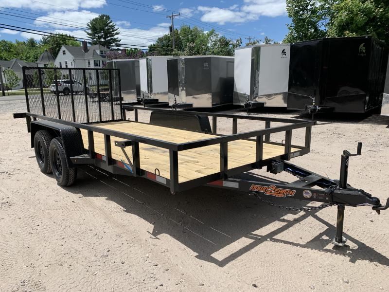 2020 Down 2 Earth 7x16 tube steel Utility Trailer/7000gvwr