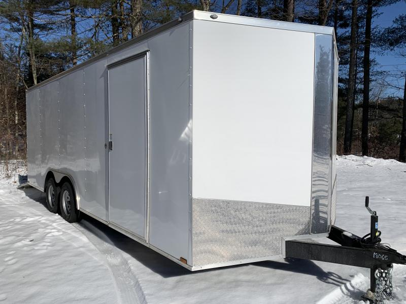 "SALE 2020 Spartan 8.5X20 +2ft V trailer/6"" extra height/7k gvw"