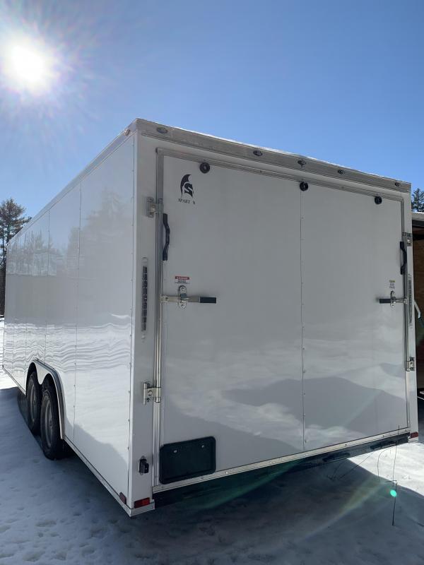 "SALE 2020 Spartan 8.5X20 +2ft V trailer/6"" extra height/7k gvw"