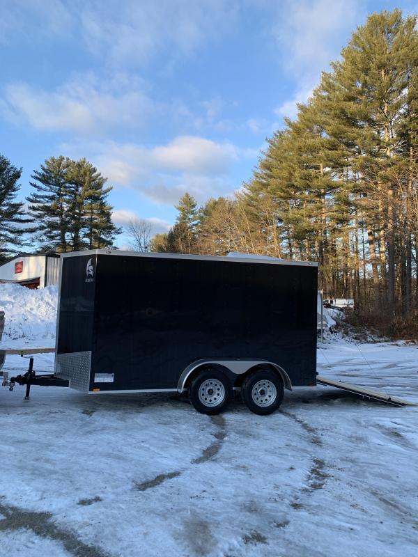 """SALE 2020 Spartan 6X12 +2ft V trailer ramp door/6"""" extra height"""