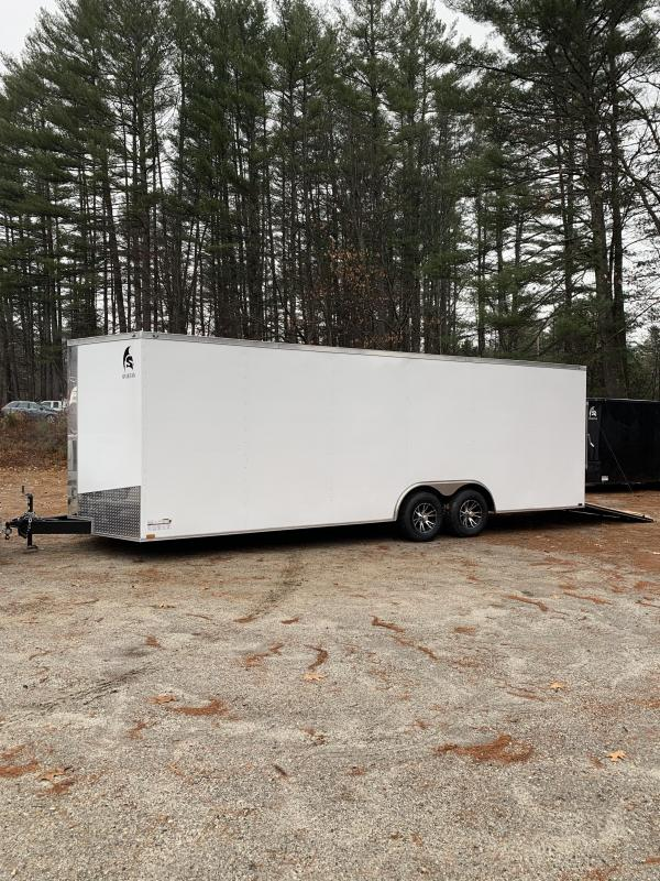 "2020 Spartan 8.5x24 +2ft V trailer 9990gvwr 12"" Extra height"