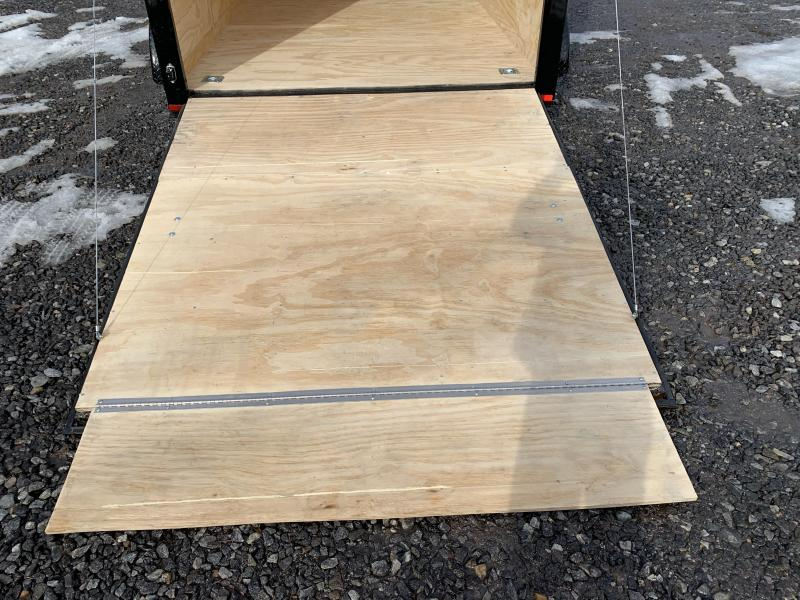 "SALE 2020 Spartan 7X12 +2ft V trailer ramp door/12"" extra height"