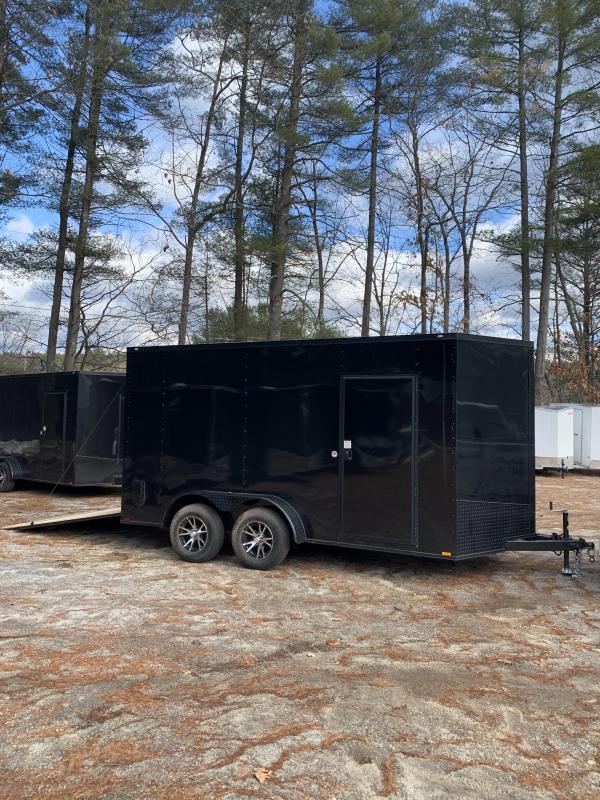 """SALE 2020 Spartan 7X14 +2ft V trailer ramp door/12"""" extra height"""