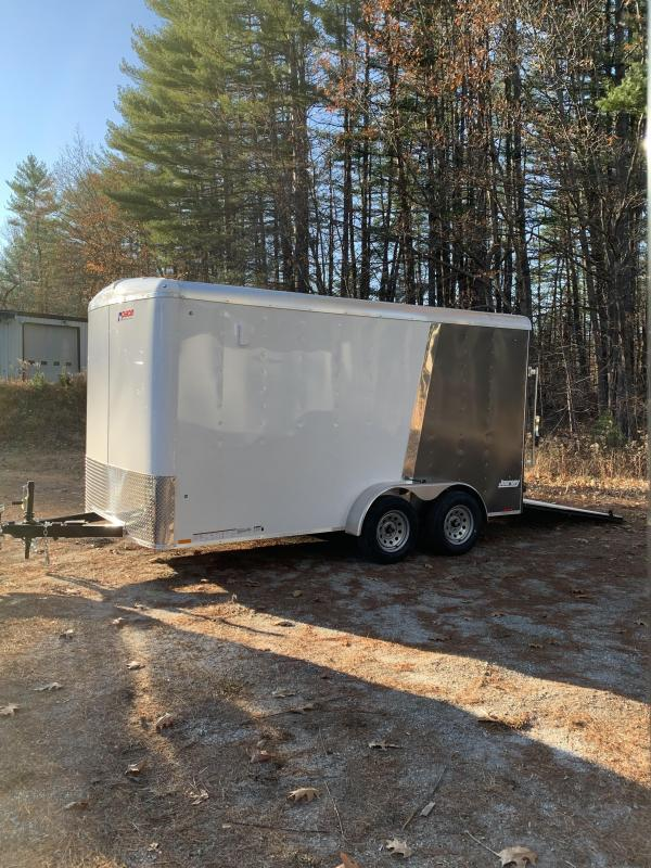 "SALE 2020 Pace 7X14 trailer ramp/undercoated frame 12"" extra height"