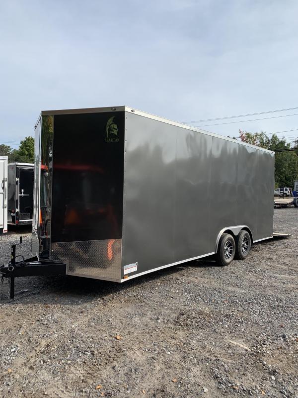 "2020 spartan 8.5x20 trailer w/18"" extra height/ 9990 gvwr"