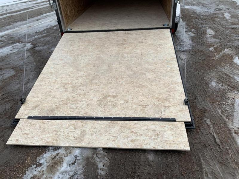 "2020 Pace 7X14 +2ft V trailer ramp/12"" extra height/stab jacks"
