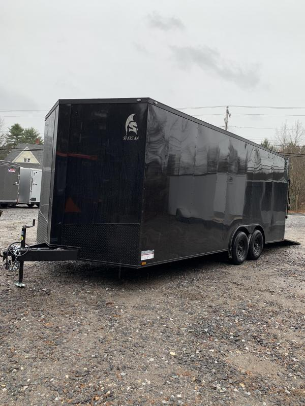 "2020 Spartan 8.5x20 +2ft V trailer 9990gvwr 12"" Extra height/Blackout"
