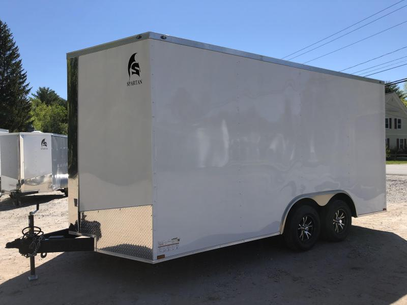 "*DENT SALE* 2020 Spartan 8.5X16 +2ft V trailer/12"" extra height"