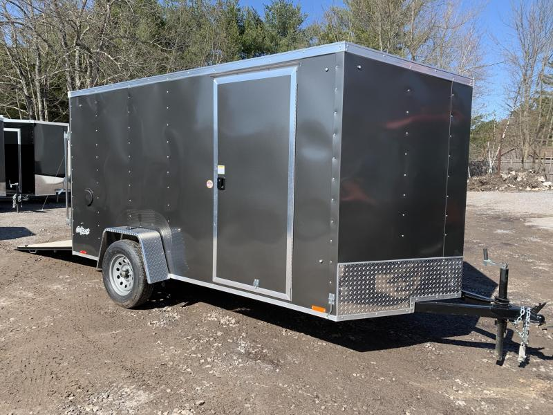 SALE 2020 PACE 6X12 +2ft V trailer ramp door/undercoated