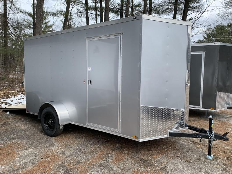 "2020 Spartan 6x12 +2ft V trailer ramp door/6"" extra height"