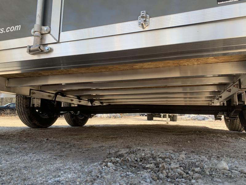 "2020 EZ Hauler 7X14 +2ft v ULTIMATE Contractor Package/6"" extra height"