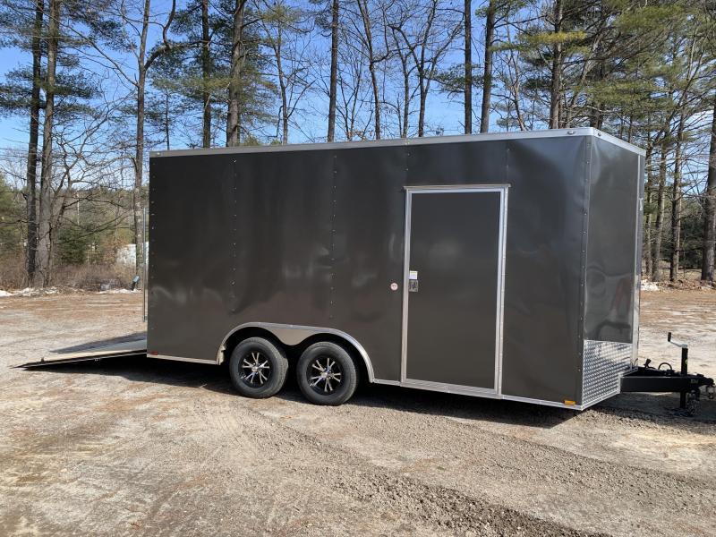 "2020 Spartan 8.5X16 +2ft V trailer/18"" extra height/7k gvwr"