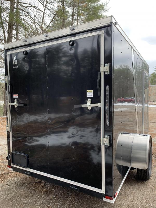 """2020 Spartan 6x12 +2ft V Two Tone/6"""" extra height"""