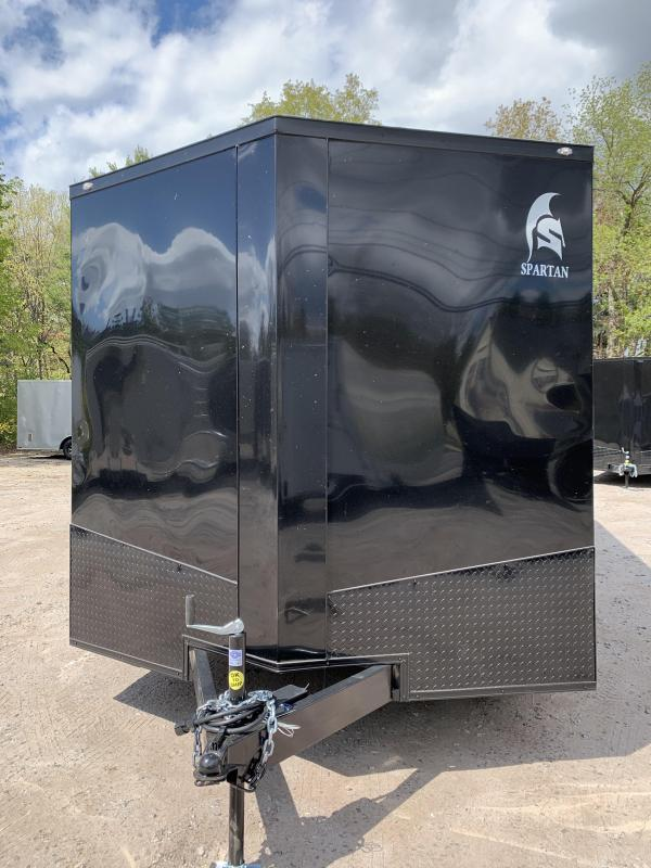 """2020 Spartan 8.5X20 +2ft V trailer/12"""" extra height"""