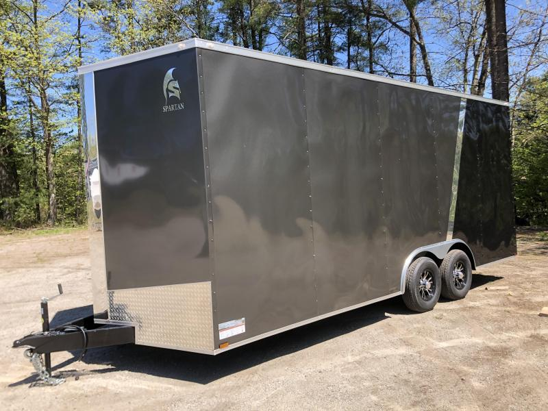 """2020 Spartan 8.5X20 +2ft V trailer/18"""" extra height"""