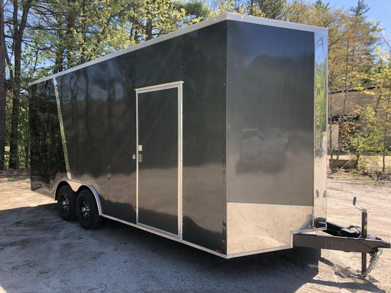 "2020 Spartan 8.5X20 +2ft V trailer/18"" extra height"