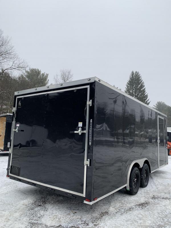 "2020 Spartan 8.5X20 +2ft V trailer/6"" extra height/7k gvw"