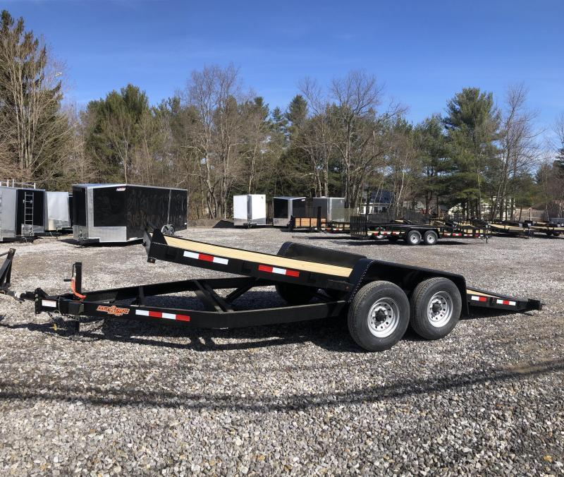 2019 D2E 7x20 Gravity tilt 9990gvwr trailer/w. dexter axles