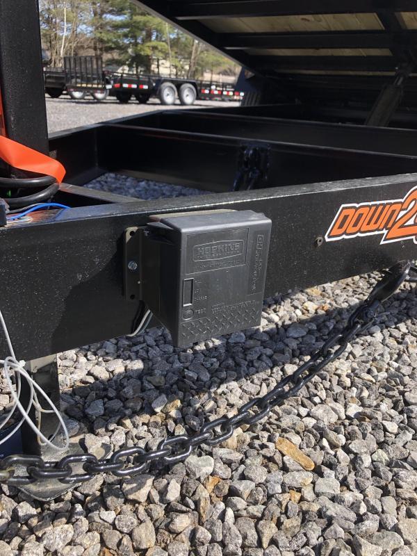 2019 D2E 7x20 Gravity tilt 9990gvwr trailer/w. dexter axles