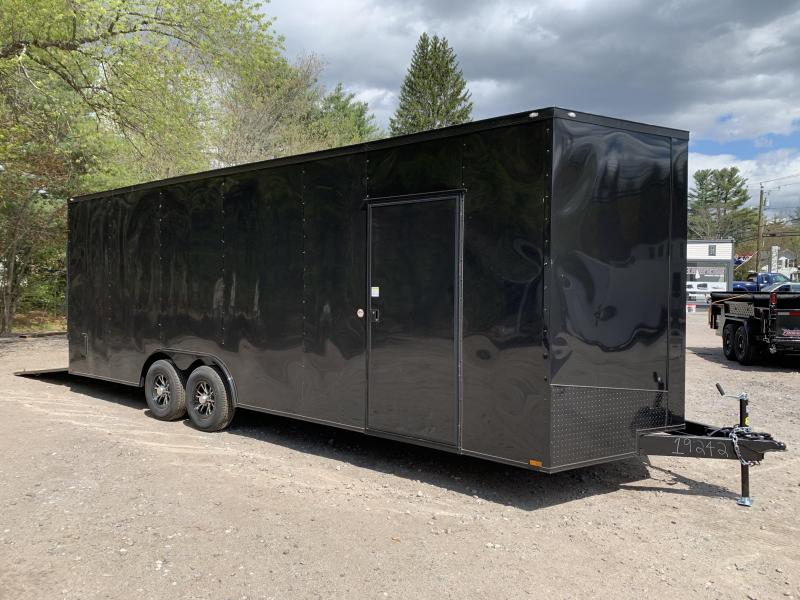 "2020 Spartan 8.5X24 +2ft V trailer/18"" extra height/BLACKOUT"