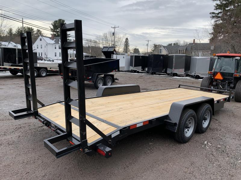 2020 D2E 7x20 equipment trailer 9990 GVWR