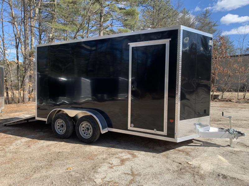 "2020 E-Z Hauler 7X14 +2ft V-Nose/ 12"" extra height"