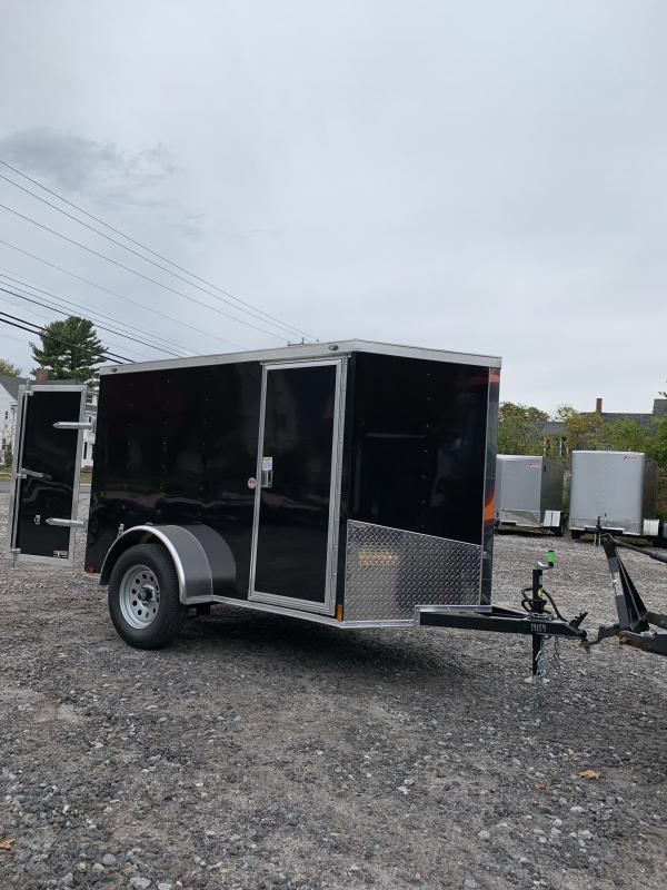 SALE 2020 Spartan 5x8 2ft v-nose Trailer/DOUBLE DOORs