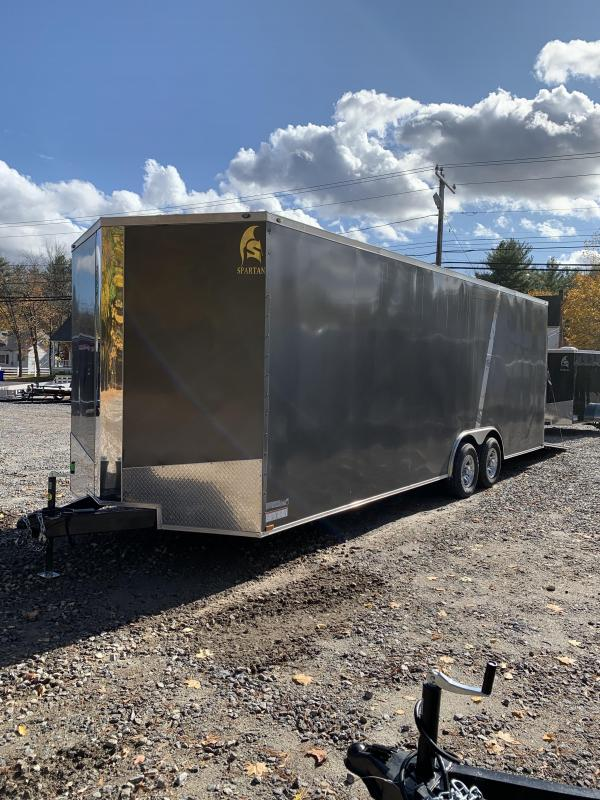 "2020 Spartan 8.5x24 +2ft V trailer 9990gvwr 18"" Extra height/110v package"
