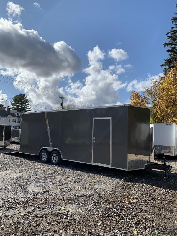 """2020 Spartan 8.5x24 +2ft V trailer 9990gvwr 18"""" Extra height/110v package"""
