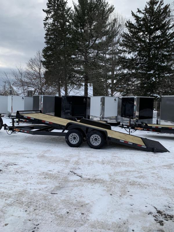 2019 D2E 7x20 Gravity tilt 10,000 gvwr trailer/w. dexter axles