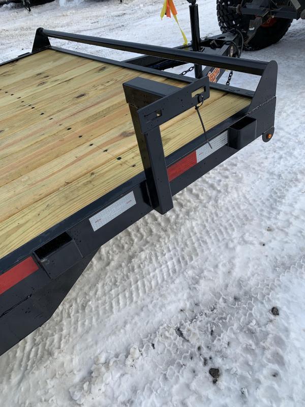 SALE 2019 D2E 7x20 Gravity tilt 9990 gvwr trailer/dexter axles