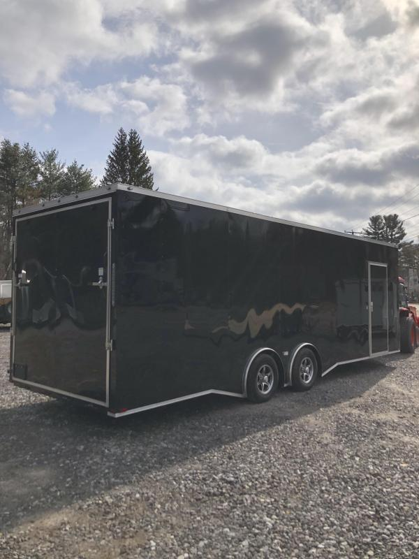 2019 Spartan 8.5x26 +2ft V trailer 9990gvwr Extra height/torsion axles