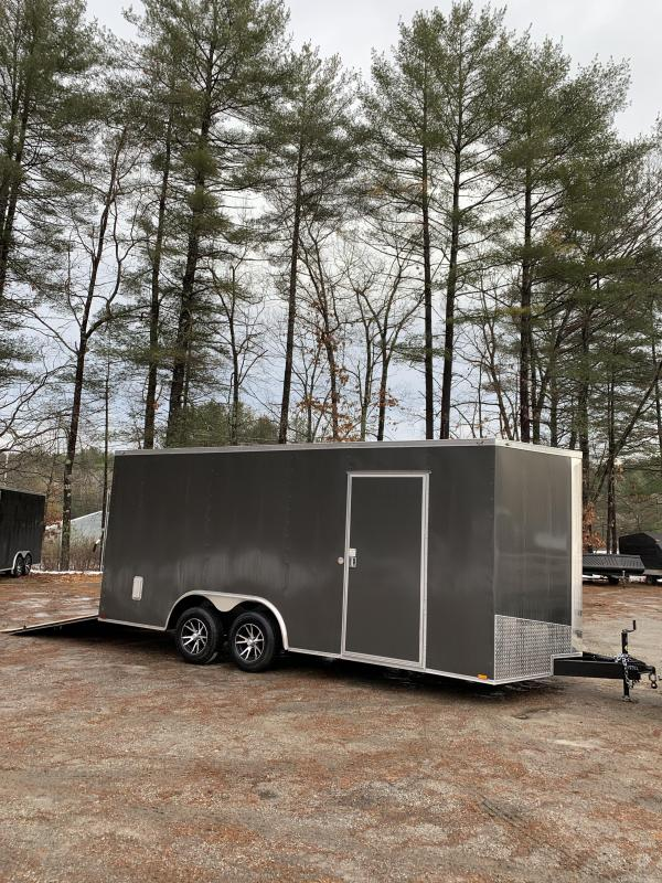 "SALE 2020 Spartan 8.5X18 +2ft V trailer/12"" extra height/16oc"